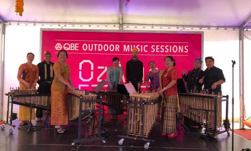 on stage OzAsia Festival_Lucky Dumpling Market 26102019
